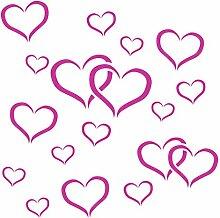 Love Herz Schablone-wiederverwendbar Valentine