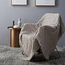 Love House Knitted Plaids Und Decken Für Sofa,