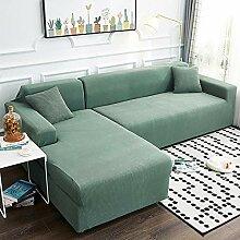 Love House Stretch Sofa Abdeckung, 2 Stück