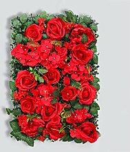 Love-huaqiang Kunstblume Wand Kunstblume Wand