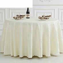 LOVE Roten Tuchgewebe Treffen,Runde Tischdecke