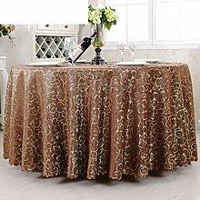 LOVE Runde Tischdecke Für Hotels,Stoff Tischdecke Tee Tuch,Europäische Blumen Tischdecke Essen Im Restaurant-G 120x180cm(47x71inch)