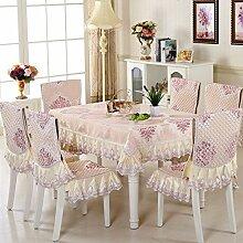 LOVE Spitzen Tischdecke Tischdecke,Tisch Garten