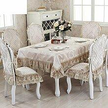 LOVE Style Hotel Tischdecke,Set Kaffee Gartentisch