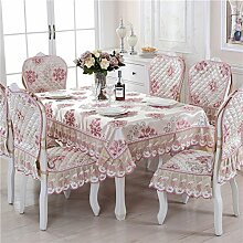 LOVE Textile Tischdecken,Europäische Leinen