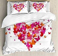 Love Ultra Soft 4-teiliges Bettwäsche-Set,