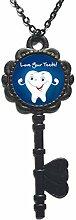 Love Your Teeth Anhänger Smile Zahn handgefertigt