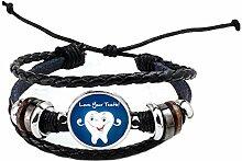 Love Your Teeth Armreif Smile Zahn handgefertigt