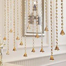 Love-zhulian Perlen Vorhang Tür - Kristall Perlen