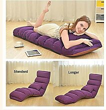 LOVEHOUGE Lazy Sofa Chair Lazy Lounge Bed Folding