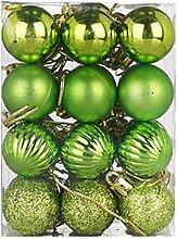 LoveLeiter Christbaumkugeln Set Weihnachtsbaum