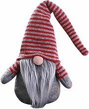 LoveLeiter Handgemachte schwedische Wichtel Santa