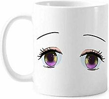 Lovely Blandness Mignon Eyes Tasse, Keramik,
