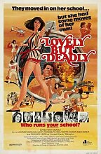 Lovely But Deadly Poster 01 Metal Sign A4 12x8 Aluminium