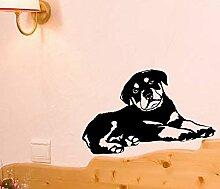 Lovely Hund Doggy Puppy Baby Pet Lichtschalter Funny Love Herz Vinyl Decor Home Live Kids Funny Art Wand Aufkleber Aufkleber