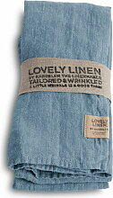 Lovely Linen Tischläufer - Dusty Blue