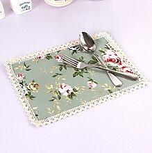 Lovely Little grün Rose Gedruckt Tischläufer
