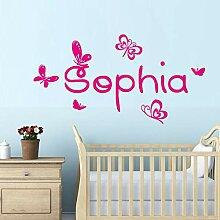 Wandtattoo Schmetterling Schmetterlinge Kinderzimmer günstig online ...