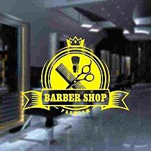 LovelyHomeWJ Barbershop Aufkleber Brot Aufkleber