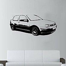 LovelyHomeWJ DIY Auto Wandkunst Dekor Riesen