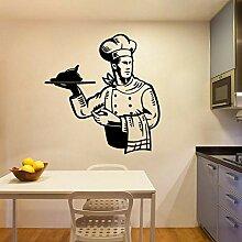 LovelyHomeWJ DIY Koch Küche Tapete Wandaufkleber