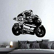 LovelyHomeWJ Race Motorrad Racing Aufkleber