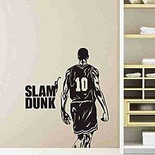 LovelyHomeWJ SLAM Dunk Wandtattoo Vinyl