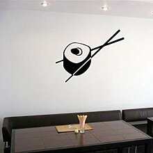LovelyHomeWJ Sushi Aufkleber Restaurant Aufkleber