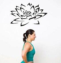 LovelyHomeWJ Yoga Club Wandaufkleber Aufkleber