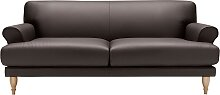 LOVI Sofa Ginger, 2-Sitzer, Füße in Eiche natur,