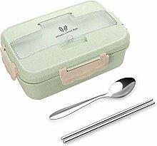 lovingmona Bento Box Lunchbox für Erwachsene,