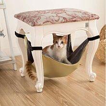 Lovinn Hängematte für Katzenkäfig, Hängematte,