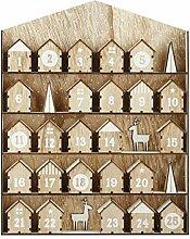 Lovinn Weihnachtskalender aus Holz, zum