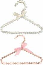 LOVIVER 10 Stücke 20 cm Perlen Kleiderbügel