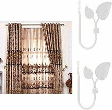 LOVIVER 2 Stü U Form Antiken Vorhang Vorhang