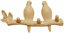 LOVIVER Creative Birds Wandhalterung Art Hanger
