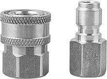 LOVIVER Hochdruckreiniger Adapter Kit Auto