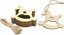 LOVIVER Holz-Anhänger Geschenk-Anhänger
