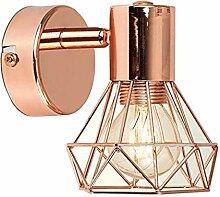 LOVIVER LED Wandleuchte Industrial E27 Wandlampe