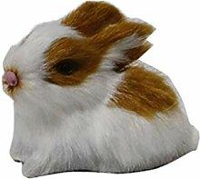 LOVIVER Niedliche Plüsch Kaninchen Hase Figur