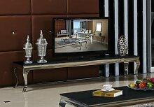 Lowboard 200 x 45 x 42 Sara schwarz Wohnzimmer TV