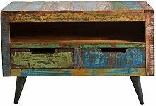 Lowboard Altholz mit Metallbeinen bun