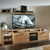Lowboard mit TV-Aufsatz & Wandboard BOZEN-36
