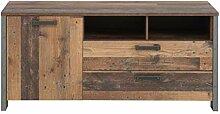 Lowboard TV-Kommode Clif 142 cm Optik: Old Wood