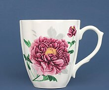 LOYWT Bone China Becher Tasse, Kaffeetasse, Home