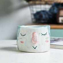 LOYWT handgemachte Keramik Tasse, Becher Tasse,