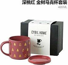 LOYWT Keramikbecher mit großer Kapazität und