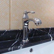 lozse Badezimmer Spültisch Armatur in moderner Stil Centerset Chrome Finish Wasserhahn