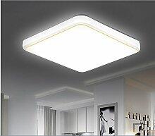 Lpan Wohnzimmer Lampe LED Deckenleuchte Einfach Moderner Rechteckiger Quadratisch Studie Balkon Kuche