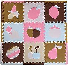 LPATTERN 9 Stück Spielmatte Baby Kinder